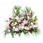 Devant de cercueil